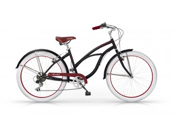 Vélo Honolulu Beach Cruiser Dame noir