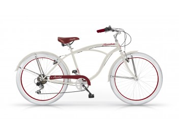 Vélo Honolulu Beach Cruiser Homme Gris