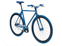 Vélo fixie blue matt