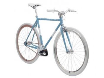 Vélo fixie pastel blue
