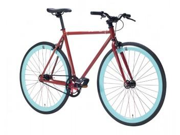 Vélo fixie red pistache
