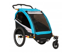 Remorque à vélo 2 enfants CROOZER BURLEY DLITE'