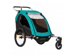 Remorque à vélo 2 enfants CROOZER BURLEY CLUB