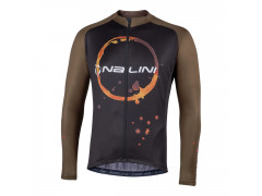 Maillot à manches longues vélo Nalini Coffee