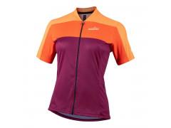 Maillot vélo Nalini Country Orange Femme
