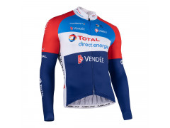 Maillot manches longues Team Nalini Total / Direct Energie 2021